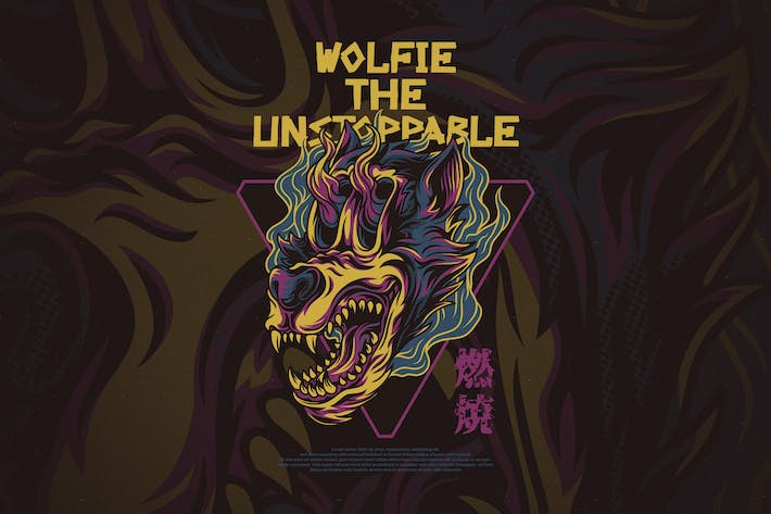 Cover Image For Wolfie the Unstoppable