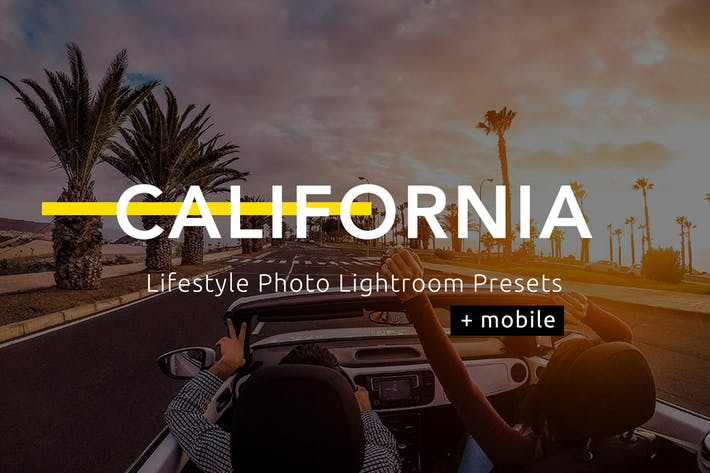Thumbnail for California - Lifestyle Photo Lightroom Presets
