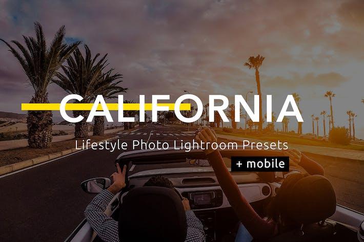 Thumbnail for California - Ajustes preestablecidos de Lightroom de fotos de Estilo de vida de vida