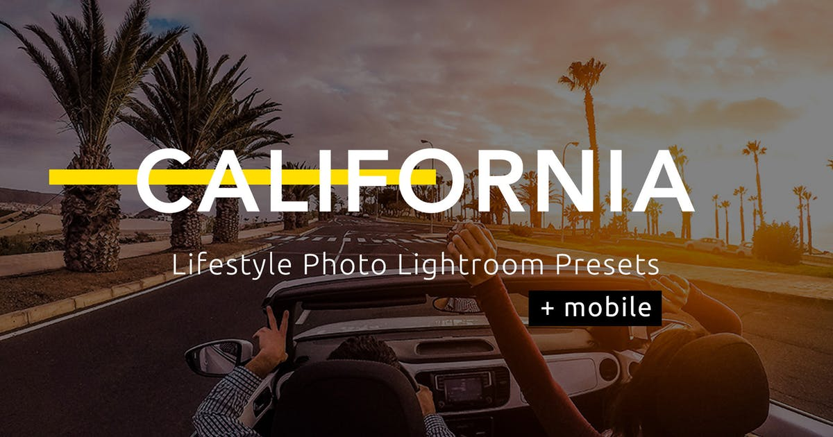Download California - Lifestyle Photo Lightroom Presets by Temaphoto