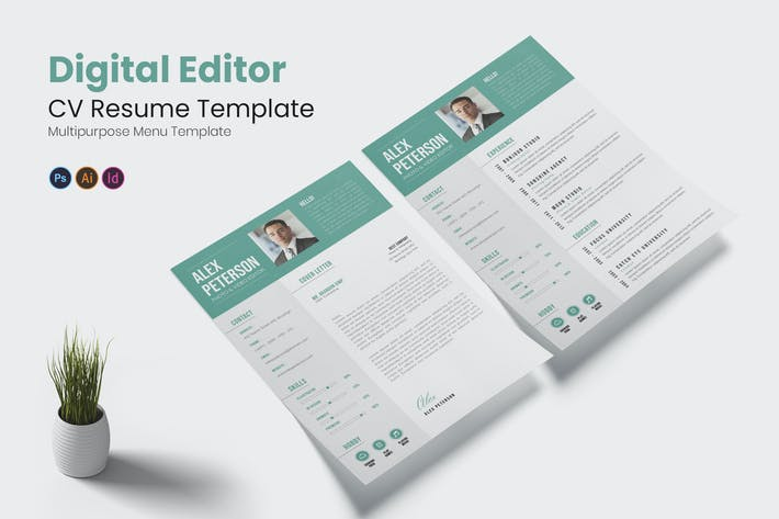 Digital Editor CV Resume