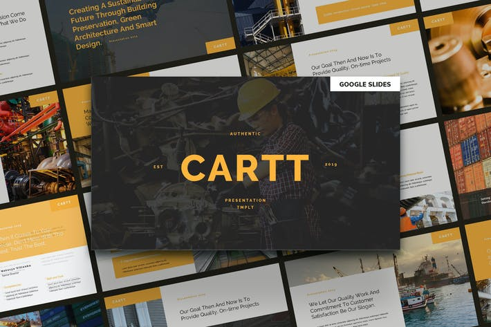 Thumbnail for CARTT - Property & Developer Google Slides