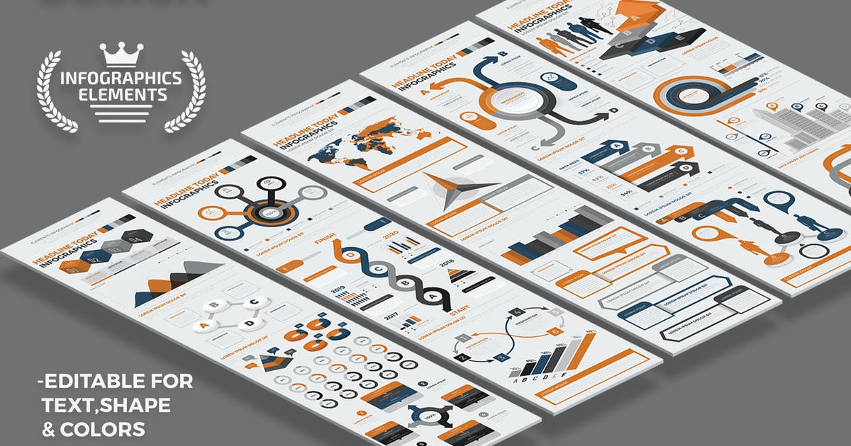 Infographics Design by mamanamsai
