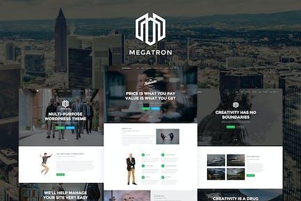 Megatron - Mehrzweck-HTML5-Vorlage