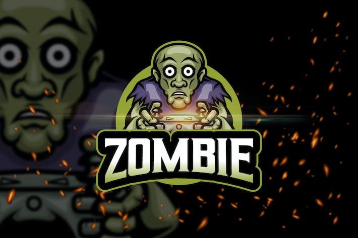 Thumbnail for Zombie - AI & PSD Esport Logo Template