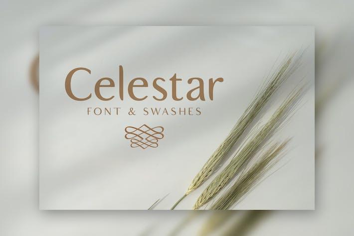 Thumbnail for Celestar Font