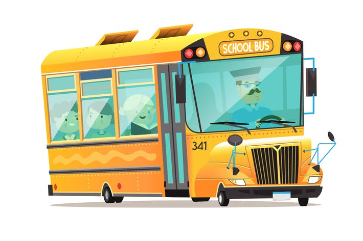 Cover Image For School Bus