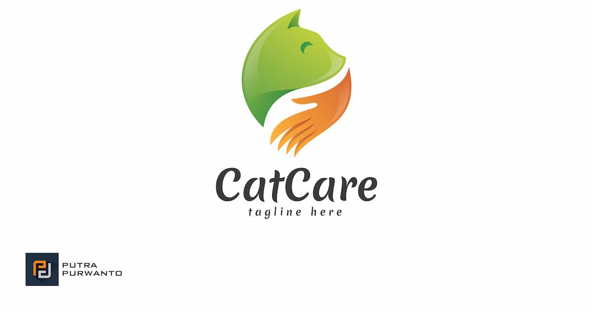 Download Cat Care - Logo Template by putra_purwanto