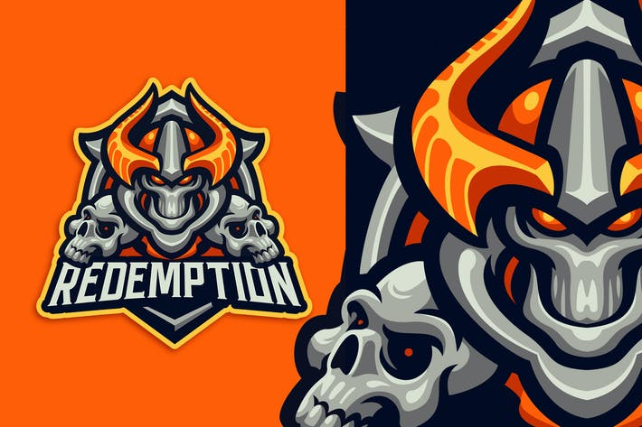 Thumbnail for Redemption Esport and Sport Logo Template