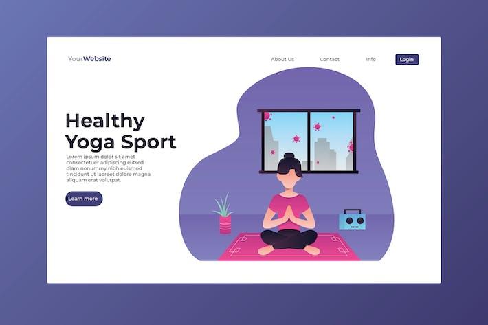 Thumbnail for Gesunder Yogasport
