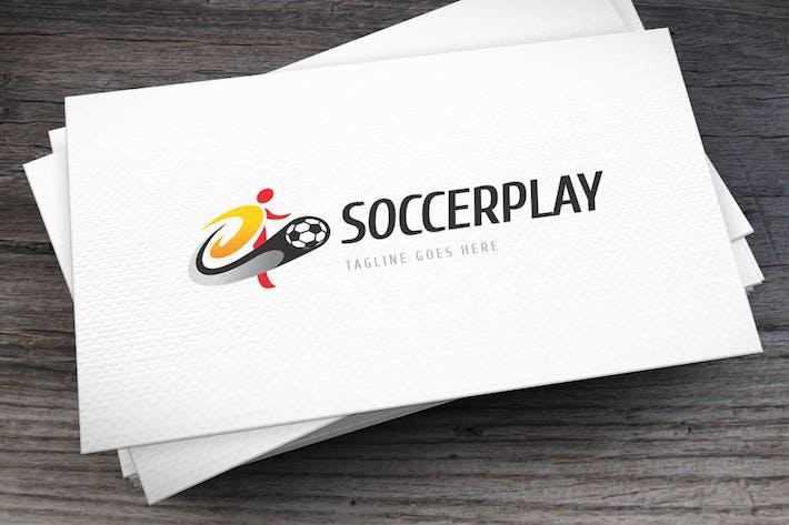 Thumbnail for Soccer Play Logo Template