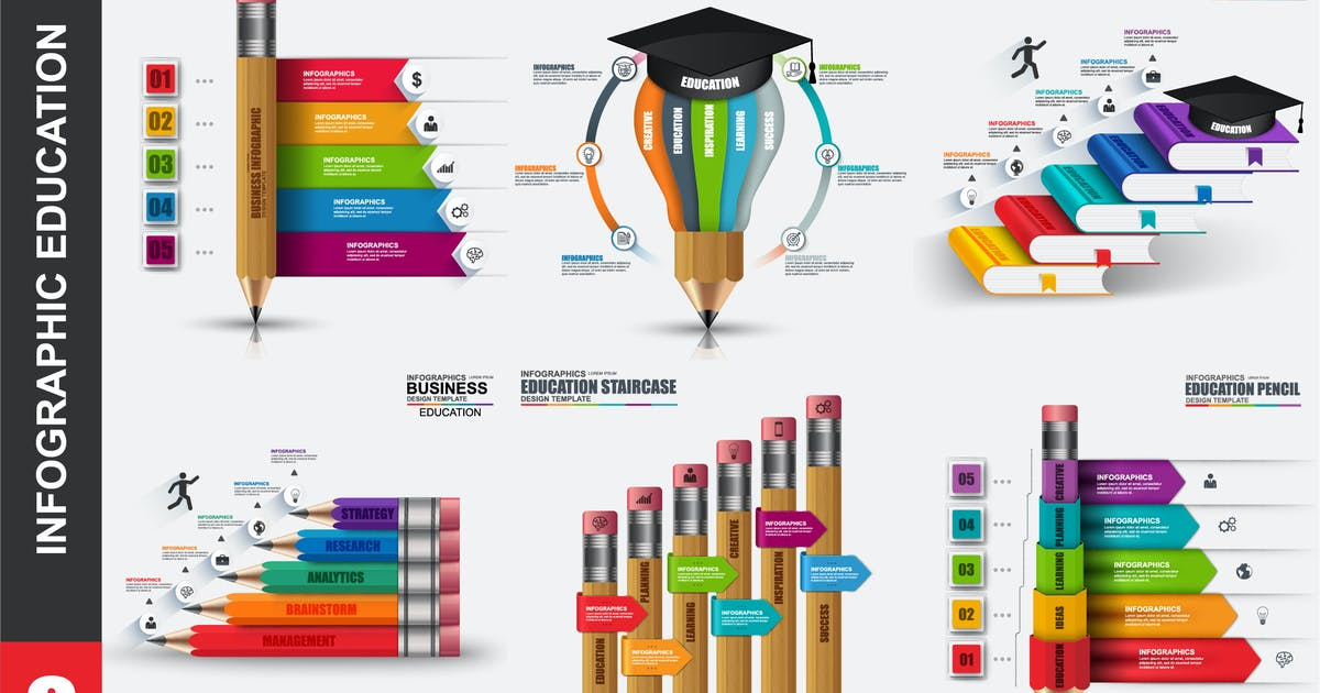 Download Education infographics by alexdndz