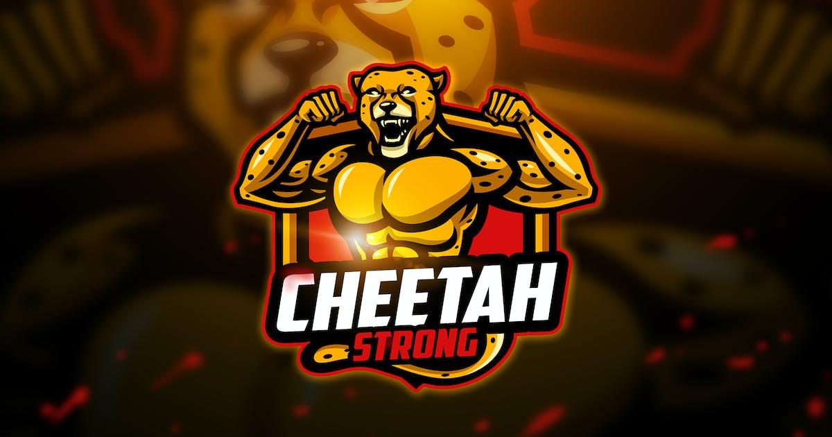 Download Cheetah strong - Mascot & Esport Logo by aqrstudio