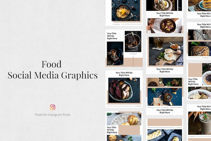 Thumbnail for Food Instagram Posts