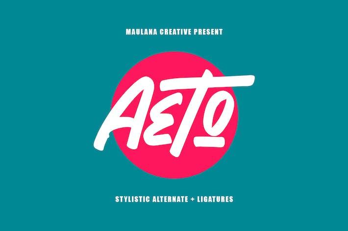 Thumbnail for Aeto - Pincel de fuente hecha a mano