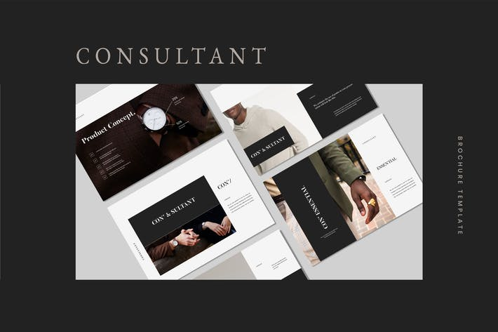 Consultant - Brochure Lookbook