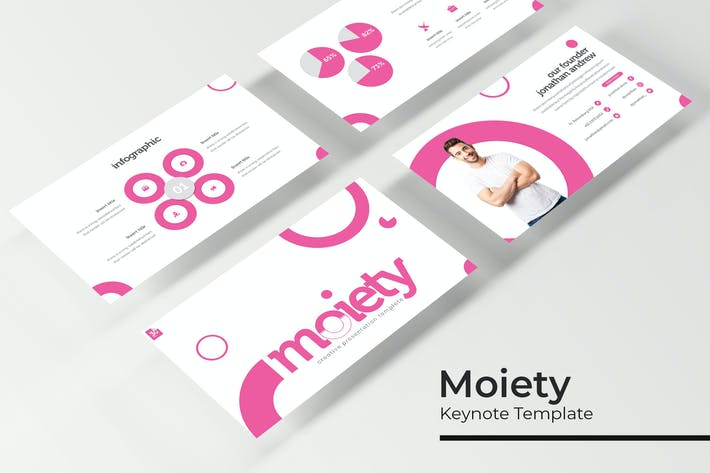Thumbnail for Moiety - Keynote Template