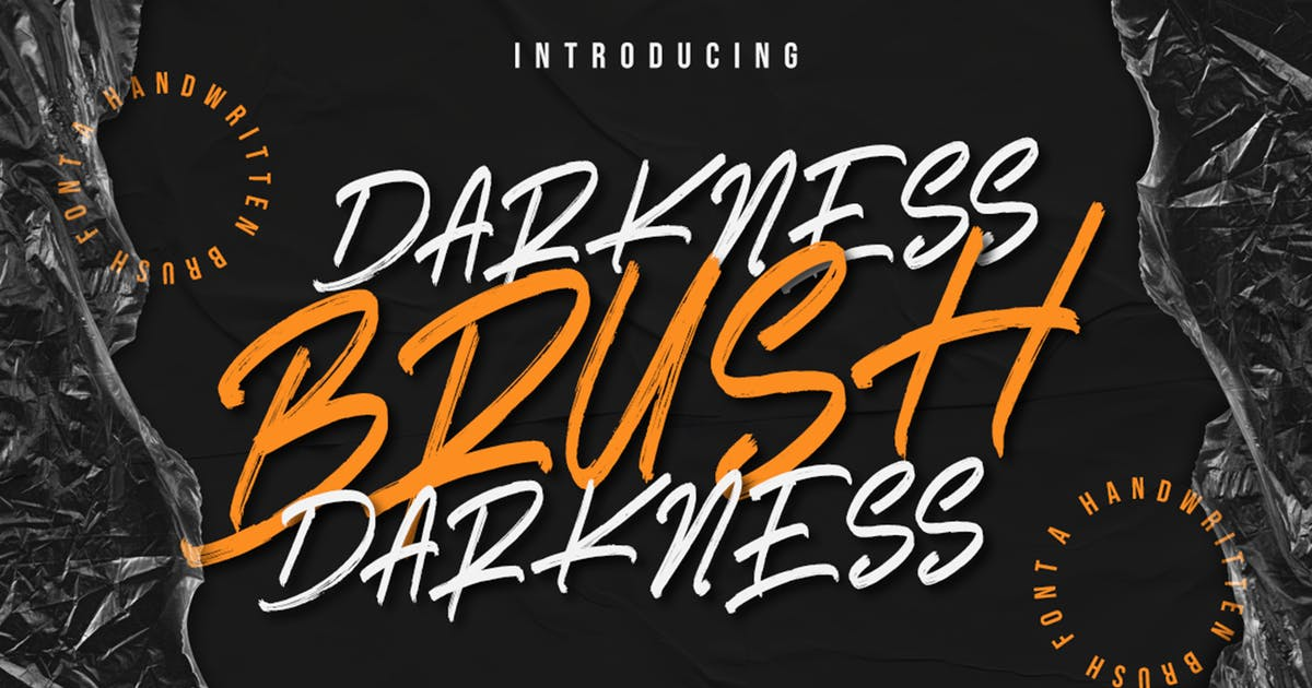 Download Darkness Brush by RockboyStudio