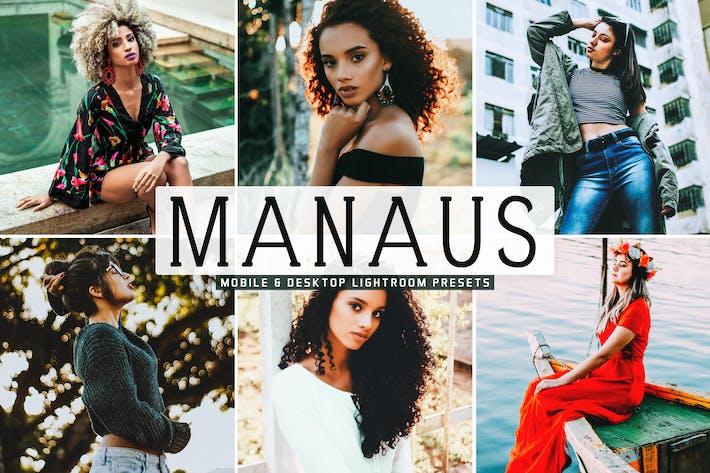 Thumbnail for Пресеты Lightroom Manaus для мобильных ПК и настольных ПК