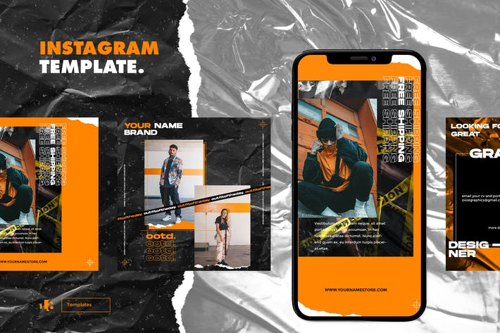 Thumbnail for Instagram Template vol.3