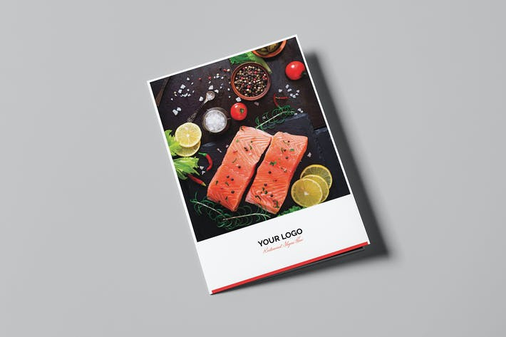 Cover Image For Brochure – Restaurant Bi-Fold