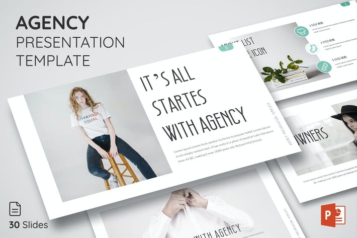 Thumbnail for Agency - Powerpoint Presentation Template