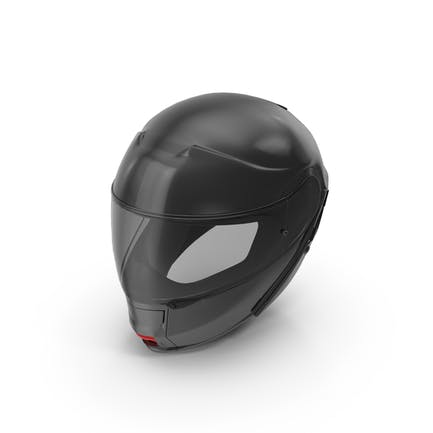 Black Racing Helmet