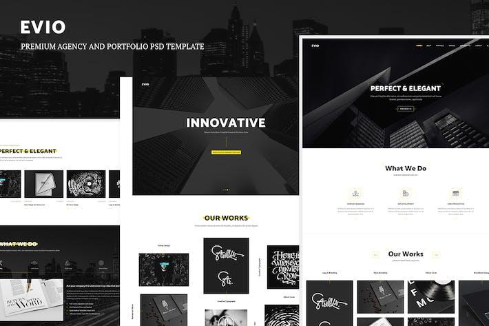 Thumbnail for Evio - Premium Agency & Portfolio Template