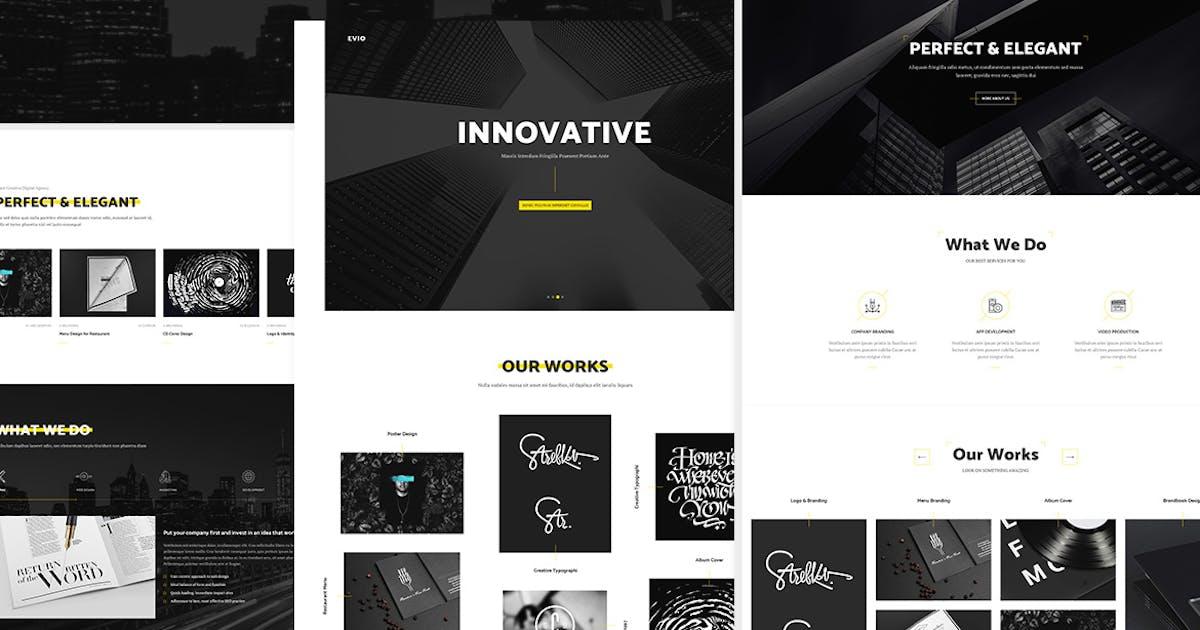 Evio - Premium Agency & Portfolio Template by Unknow