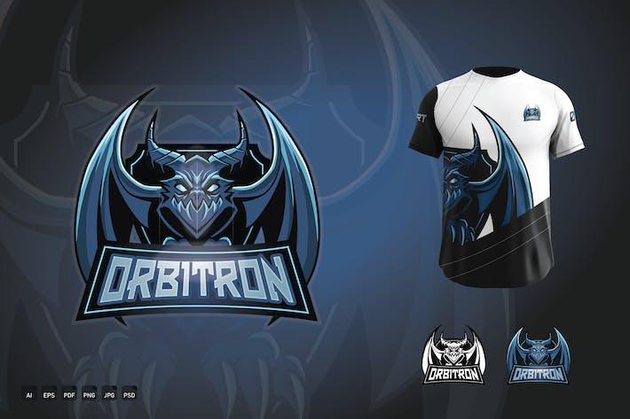 Thumbnail for Esports Gaming Team / Clan Logo - Orbitron