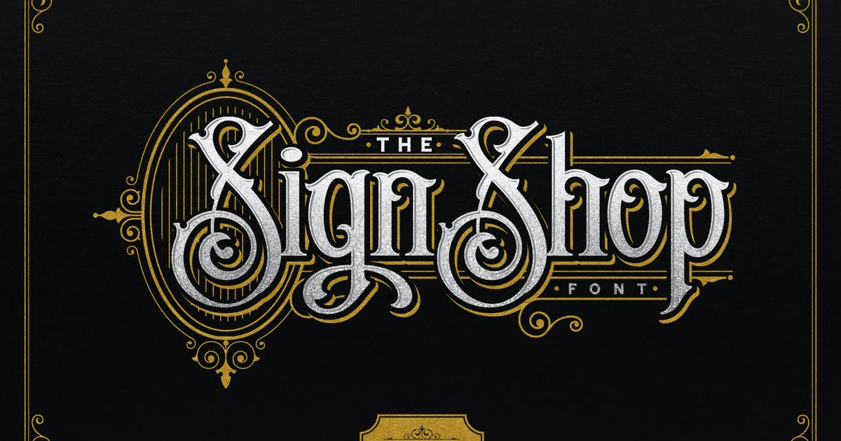 Download The Sign Shop by nurrontype