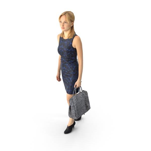 Woman Walking Business
