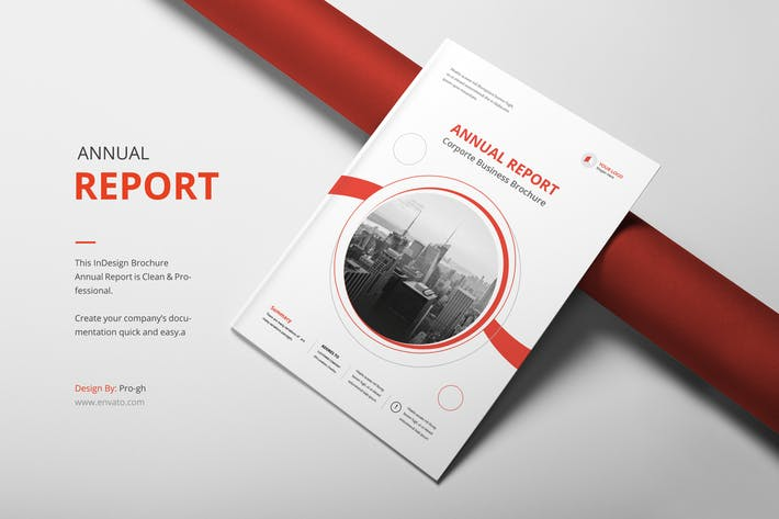 Thumbnail for Annual Report A4 & Us Letter