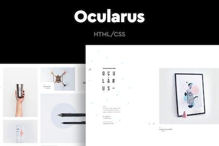 Ocularus - Minimale Fotografie HTML Vorlage