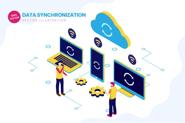 Isometric Data Synchronization