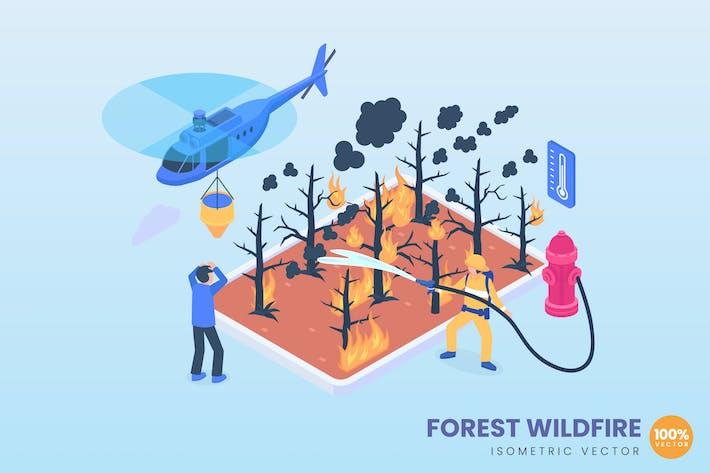 Thumbnail for Isometrisches Waldfeuer-Konzept