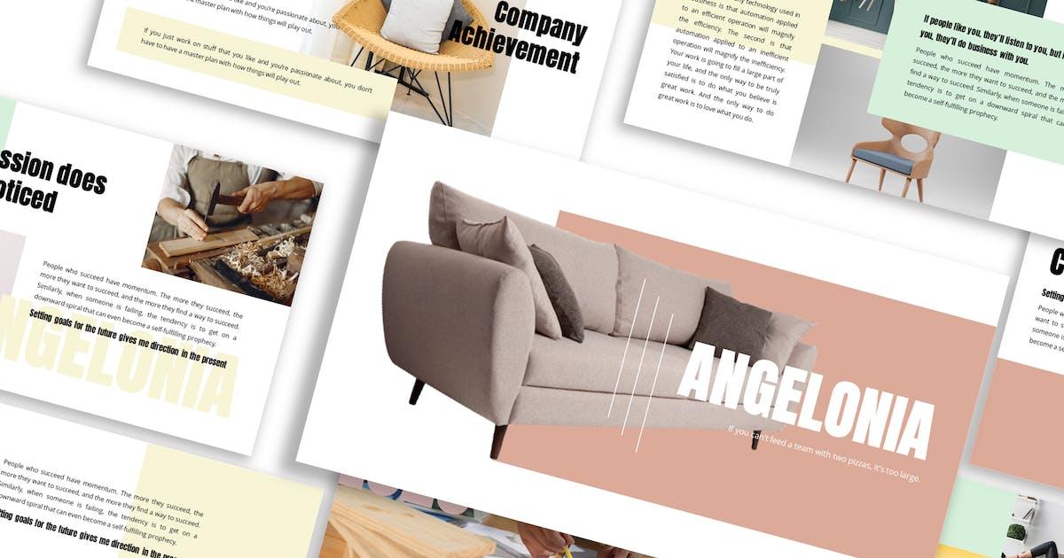 Download Angelonia - Business Google Slide Template by Blesstudio