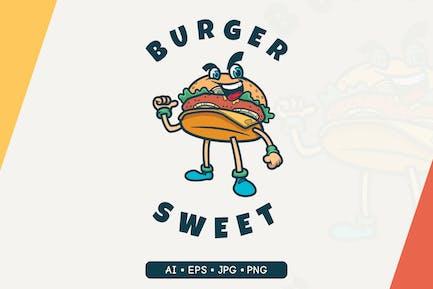Burger Sweet - Logo-Maskott
