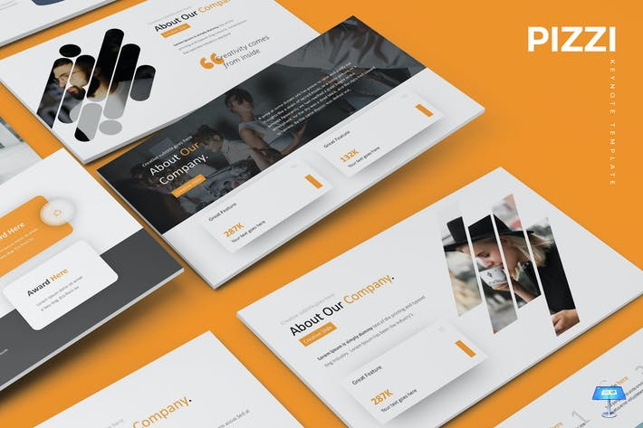 Thumbnail for Pizzi - Keynote Template