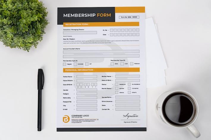 Membership Application Form