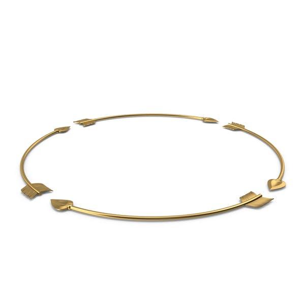 Golden Arrow Circle