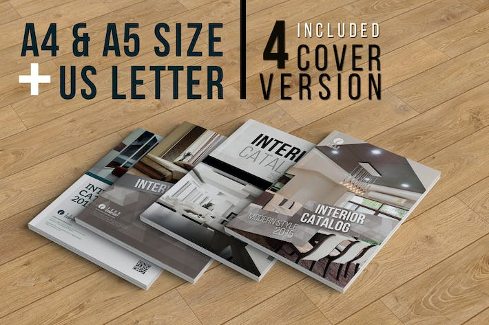 Cover Image For Brochure / Catalog Template