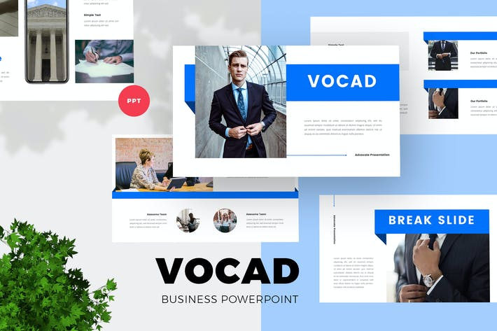 Thumbnail for Business PowerPoint Presentation Template