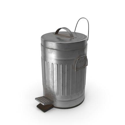 Pedal Trash Bin Dirty
