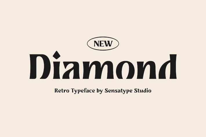 Thumbnail for Diamond - Tipo de letra retro