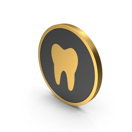 Gold Icon Tooth