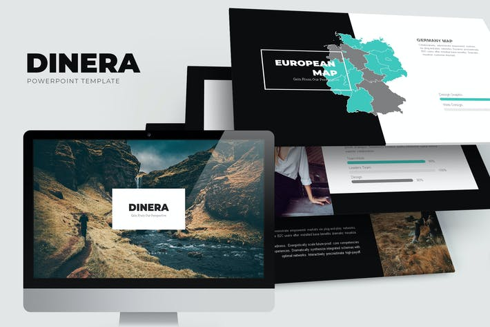 Thumbnail for Dinera : Minimal Nature Powerpoint Template