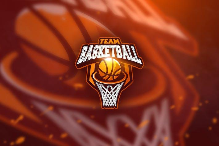 Thumbnail for Basketball - Mascot & Esport Logo