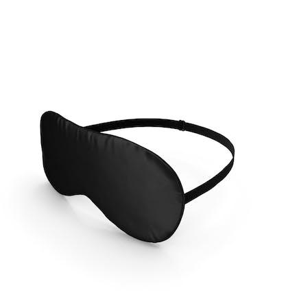 Schwarze Schlafmaske