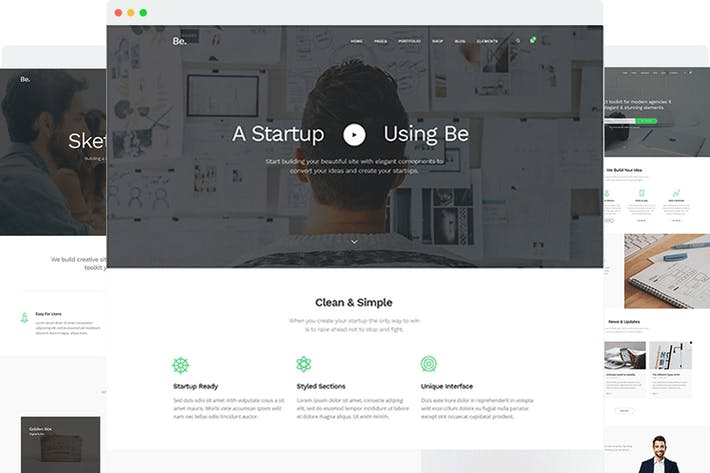 Thumbnail for BoTheme - Startup Business WordPress Thema